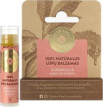 Voňavky, Parfémy, kozmetika Balzam na pery s propolisom a kakaovým maslom - Green Feel's Natural Lip Balm
