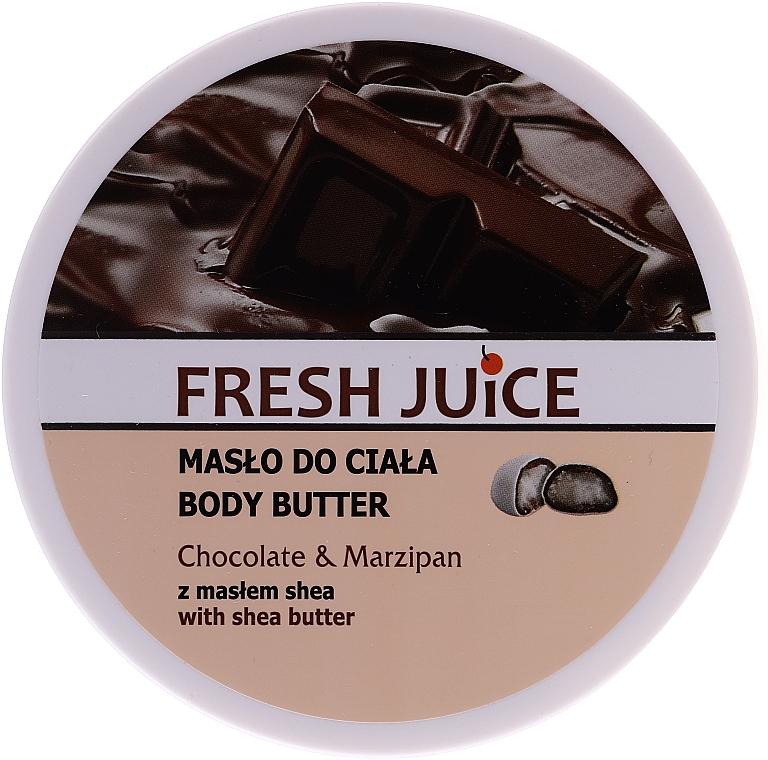 "Maslo na telo ""Čokoláda a marcipán"" - Fresh Juice Body Butter Chocolate & Marzipan With Shea Butter"