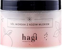 """Voňavky, Parfémy, kozmetika Soľ morská do kúpeľa """"Kozie mlieko"""" - Hagi Bath Salt"""