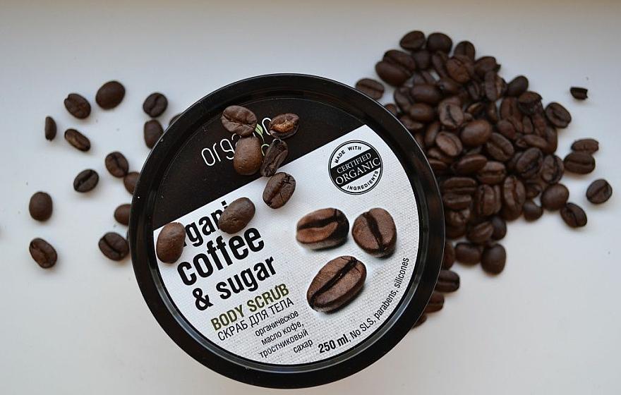 """Telový peeling """"Brazílska káva"""" - Organic Shop Body Scrub Organic Coffee & Sugar — Obrázky N4"""