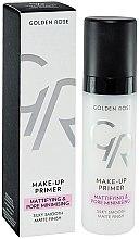 Voňavky, Parfémy, kozmetika Primer pre tvár - Golden Rose Make-Up Primer Mattifying & Pore Minimising
