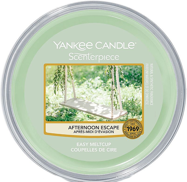Aromatický vosk - Yankee Candle Afternoon Escape Melt Cup — Obrázky N1