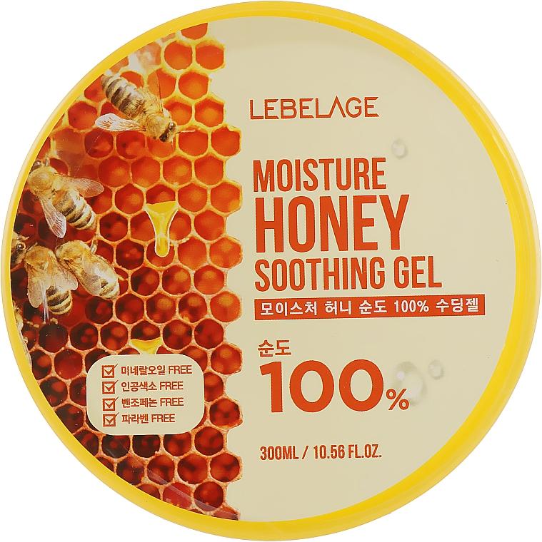 Hydratačný gél s medom - Lebelage Moisture Honey 100% Soothing Gel