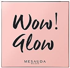 Voňavky, Parfémy, kozmetika Rozjasňovač na tvár - Mesauda Milano Wow! Glow Highlighters