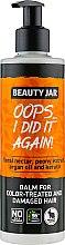 Voňavky, Parfémy, kozmetika Balzam na poškodené vlasy a farbené vlasy - Beauty Jar Oops I Did It Again