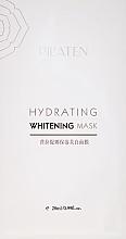 Voňavky, Parfémy, kozmetika Hydratačná bieliaca maska na tvár - Pil'aten Hydrating Whitening Mask