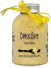 Voňavky, Parfémy, kozmetika Soľ Jacuzzi, vanilka - BingoSpa
