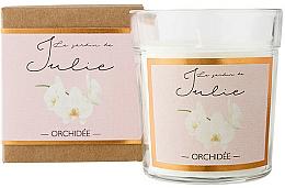 """Voňavky, Parfémy, kozmetika Vonná sviečka """"Orchidea"""" - Ambientair Le Jardin de Julie Orchidee"""