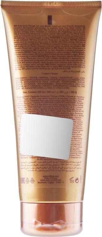 """Cukorový telový peeling """"Série mlieka a medu"""" - Oriflame Milk & Honey Gold Smoothing Sugar Scrub — Obrázky N2"""