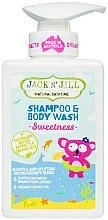 Voňavky, Parfémy, kozmetika Detský sprchový gél a šampón 2v1 - Jack N' Jill Sweetness Shampoo & Body Wash