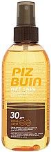 Voňavky, Parfémy, kozmetika Sprej na opaľovanie pre telo - Piz Buin Wet Skin Transparent Sun Spray SPF30