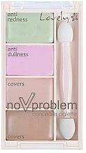 Voňavky, Parfémy, kozmetika Paleta korektorov - Lovely No Problem Corector