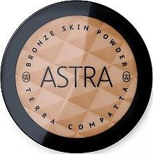 Voňavky, Parfémy, kozmetika Bronzový púder na tvár - Astra Make-Up Bronze Skin Powder