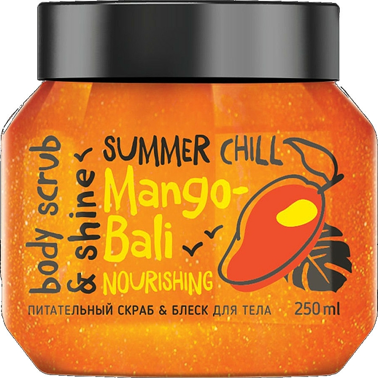 "Scrub na telo ""Lesk a výživa"" - MonoLove Bio Mango-Bali Nourishing"