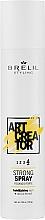Voňavky, Parfémy, kozmetika Sprej silnej fixácie - Brelil Art Creator Strong Spray