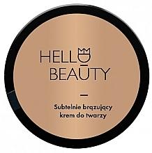 Voňavky, Parfémy, kozmetika Krém na tvár s ľahkým bronzovým efektom - Lullalove Face Cream With Light Bronzing Effect