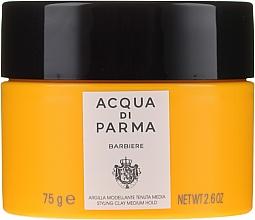 Voňavky, Parfémy, kozmetika Modelovacia hlina na styling vlasov so strednou fixáciou - Acqua Di Parma Barbiere The Styling Clay Medium Hold