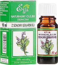 Voňavky, Parfémy, kozmetika Esenciálny olej z prírodnej šalvie - Etja Natural Essential Oil