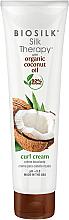 Voňavky, Parfémy, kozmetika Stylingový krém na vlasy - BioSilk Silk Therapy Organic Coconut Oil Curl Cream