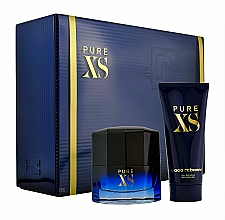 Voňavky, Parfémy, kozmetika Paco Rabanne Pure XS - Sada (edt/50ml+sh/gel/100ml)