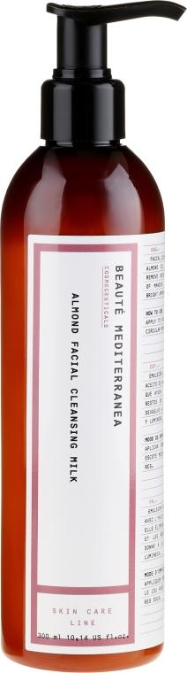Mandľové čistiace mlieko na tvár - Beaute Mediterranea Almond Facial Cleansing Milk