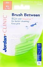 Voňavky, Parfémy, kozmetika Medzizubné kefky, 0,8 mm, XL, 10 ks - Jordan Interdental Brush Clinic Brush Between