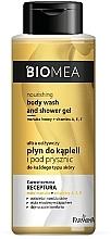 Voňavky, Parfémy, kozmetika Výživný lotion do kúpeľa a sprchy - Farmona Biomea Nourishing Body Wash And Shower Gel