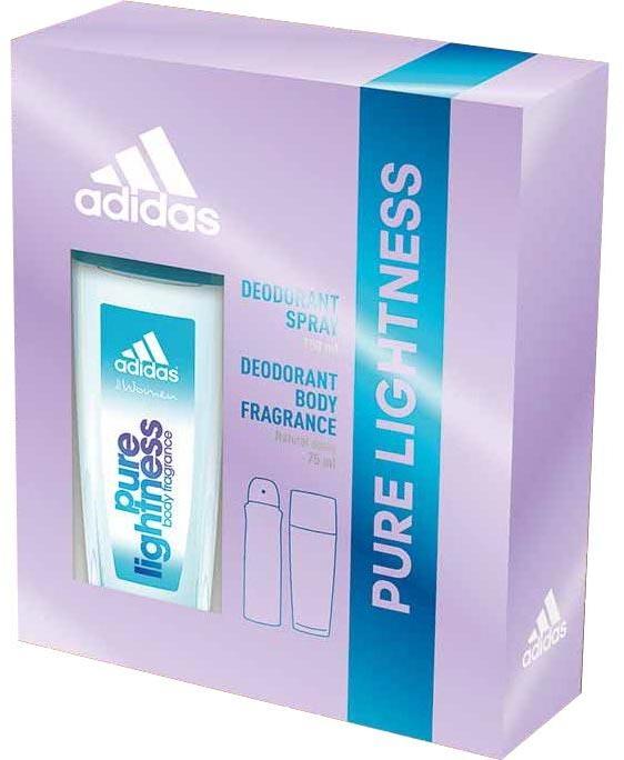 Adidas Pure Lightness - Sada (deo/75ml+spray/150ml)