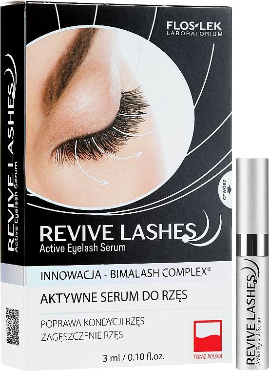 Sérum pre rast rias - Floslek Revive Lashes Eyelash Enhancing Serum