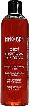 Voňavky, Parfémy, kozmetika Bahenný šampón 7 bylín - BingoSpa Shampoo Mud And 7 Herbs