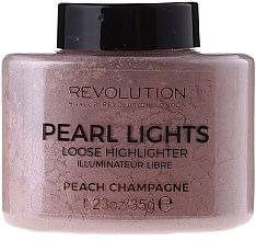 Voňavky, Parfémy, kozmetika Drobivý rozjasňovač na tvár - Makeup Revolution Pearl Lights Loose Highlighter