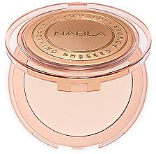 Voňavky, Parfémy, kozmetika Kompaktný púder pre tvár - Nabla Close-Up Smoothing Pressed Powder
