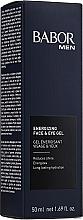"""Voňavky, Parfémy, kozmetika Gél na tvár a očné viečka """"Aktivátor energie"""" - Babor Men Energizing Face & Eye Gel"""