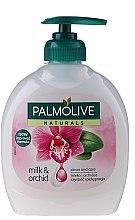 """Voňavky, Parfémy, kozmetika Tekuté mydlo Naturals """"Čierna orchidea"""" - Palmolive Naturel"""