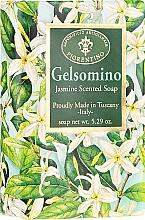 """Voňavky, Parfémy, kozmetika Prírodné mydlo """"Jazmín"""" - Saponificio Artigianale Fiorentino Masaccio Jasmine Soap"""