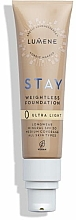 Voňavky, Parfémy, kozmetika Ľahký odolný make-up - Lumene Stay Weightless Foundation Longwear Mineral SPF 30