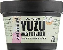 """Voňavky, Parfémy, kozmetika Telový krém """"Yuzu a Feijoa"""" - Cafe Mimi Body Cream Yuzu And Feijoa"""