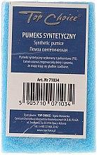 Voňavky, Parfémy, kozmetika Syntetická obojstranná pemza, modrá, 71034 - Top Choice