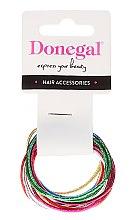 Voňavky, Parfémy, kozmetika Tenké gumičky do vlasov, FA-9911, 12 ks - Donegal