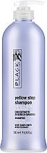 Voňavky, Parfémy, kozmetika Šampón proti žltnutiu pre sivé, zosvetlené vlasy - Black Professional Line Yellow Stop Shampoo