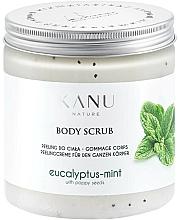 "Voňavky, Parfémy, kozmetika Scrub na nohy ""Eukalyptus s mätou"" - Kanu Nature Eucalyptus With Mint Body Scrub"