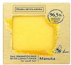 Voňavky, Parfémy, kozmetika Tuhý šampón a kondicionér - Stara Mydlarnia Manuka Honey 2in1 Shampoo Bar