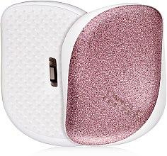 Voňavky, Parfémy, kozmetika Kompaktná kefa na vlasy - Tangle Teezer Compact Styler Glitter Rose