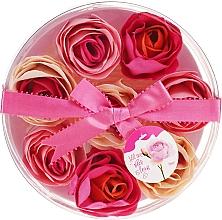 """Voňavky, Parfémy, kozmetika Konfety do kúpeľa """"Ruža"""", 8 ks - Spa Moments Bath Confetti Rose"""
