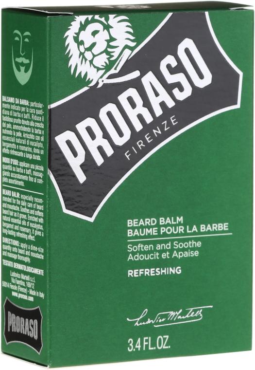 Balzam na bradu s bergamotom, eukalyptom, rozmarínom - Proraso Beard Balm — Obrázky N2