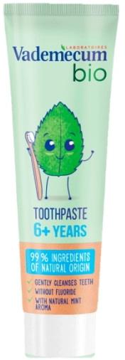 Bio detská zubná pasta s príchuťou mäty - Vademecum Bio Kids Toothpaste