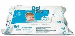 Voňavky, Parfémy, kozmetika Vlhčené utierky pre detskú citlivú pokožku - Bel Baby Wipes