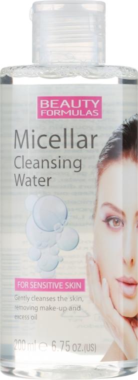 Micelárna voda pre tvár - Beauty Formulas Micellar Cleansing Water