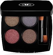 """Voňavky, Parfémy, kozmetika Očné tiene na viečka """"Množstvo efektov"""" - Chanel Les 4 Ombres Multi-Effect Quadra Eyeshadow"""