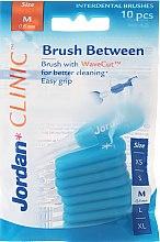 Voňavky, Parfémy, kozmetika Medzizubná kefka, 0,6mm cone, 10ks - Jordan Interdental Brush